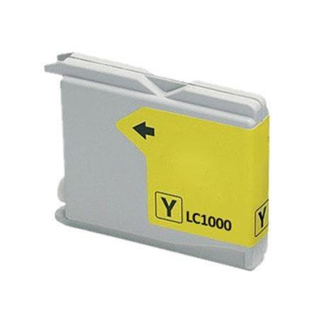 Compatible Yellow Brother LC1000Y Ink Cartridge