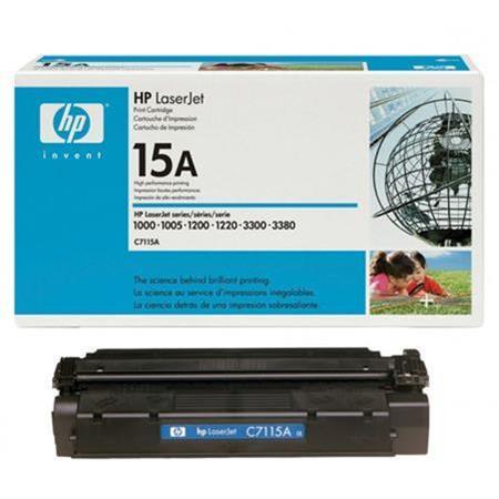 HP LaserJet C7115A Black Original Standard Capacity Print Cartridge with Ultraprecise Technology
