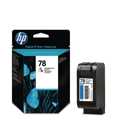 HP 78 Tri-Colour Original Inkjet Print Cartridge