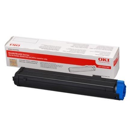 OKI 43502302 Original Black Toner Cartridge