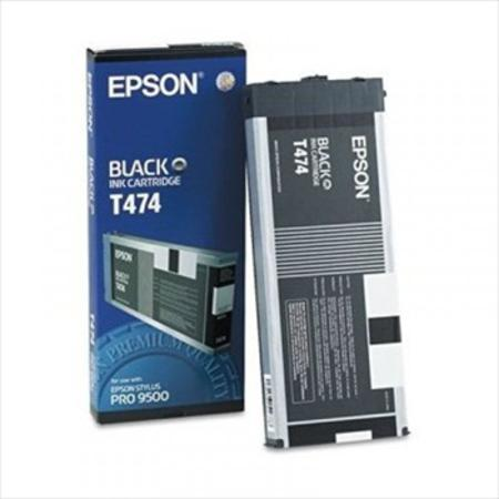 Epson T474 (T474011) Black Original Ink Cartridge