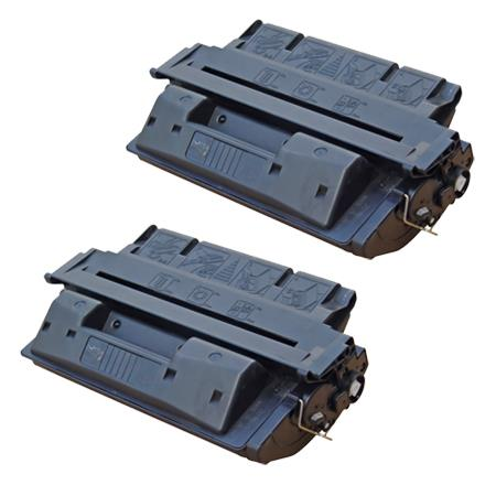 Compatible Twin Pack HP 27X Black High Capacity Toner Cartridges (2 Pack)
