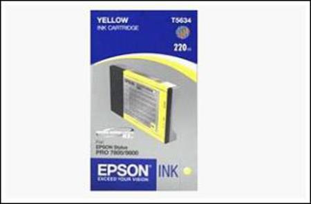 Epson T5634 (T563400) Yellow High Capacity Original Ink Cartridge