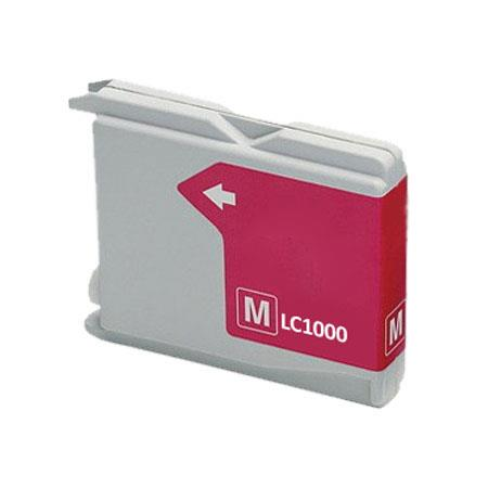 Compatible Magenta Brother LC1000M Ink Cartridge