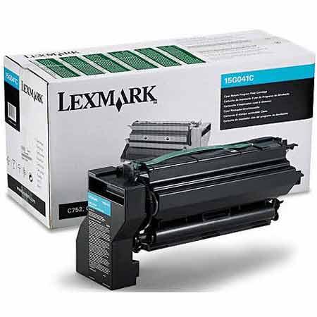 Lexmark 15G041C Original Cyan Return Program Toner Cartridge