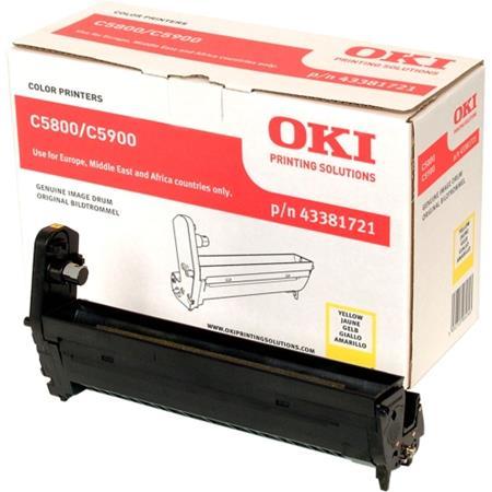 OKI 43381721 Original Yellow Imaging Drum Unit
