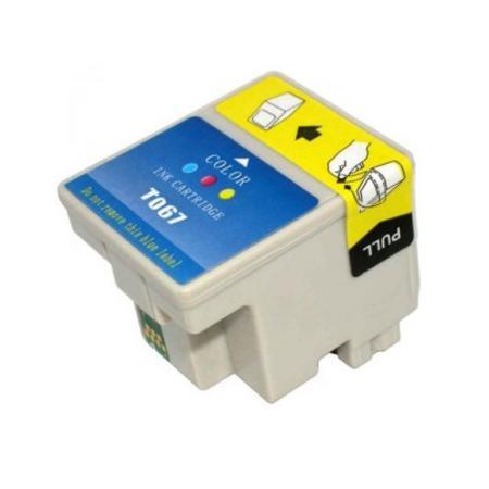 Compatible Colour Epson T067 Ink Cartridge (Replaces Epson T067 Paperclip)