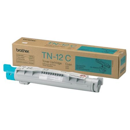 Brother TN12C Cyan Original Toner Cartridge