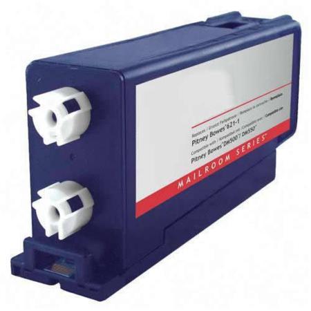 Compatible Blue Pitney Bowes 620-1SB (DM500) Ink Cartridge