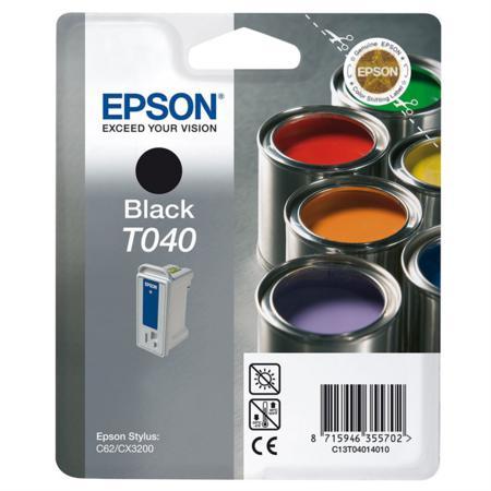 Epson T040 (T040140) Black Original Ink Cartridge (Paints)
