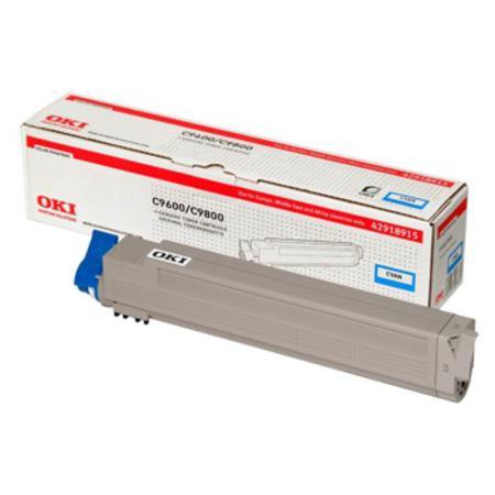 OKI 42918915 Original Cyan Toner Cartridge