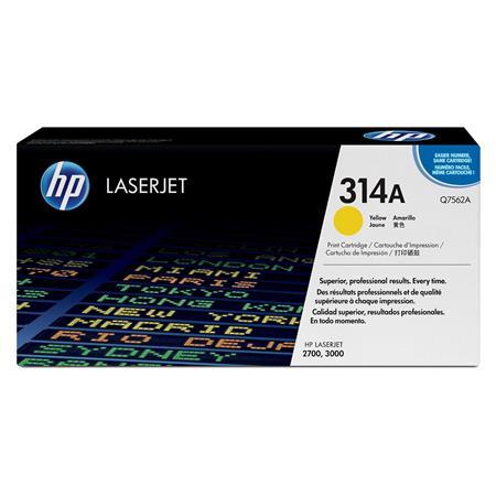 HP Colour LaserJet Q7562A Yellow Original Toner Cartridge with HP ColourSphere Toner
