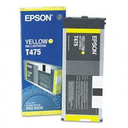 Epson T475 (T475011) Yellow Original Ink Cartridge