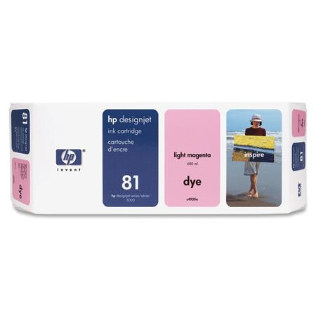 HP 81 Light Magenta Dye-Based Ink Cartridge