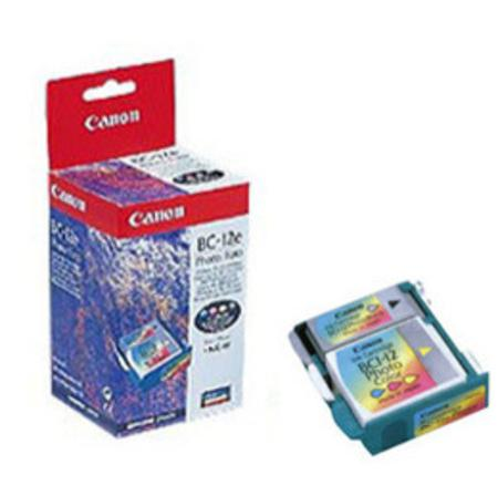 Canon BC-12e Photo PrintHead with 3 Pack Photo Original Ink Tanks