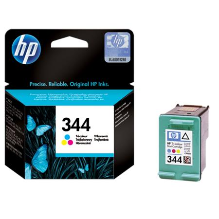 HP 344 Tri-Colour Original standard Capacity Inkjet Print Cartridge with Vivera Inks