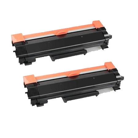 Compatible Twin Pack Brother TN1050XL Extra High Capacity Toner Cartridges (2 Pack)