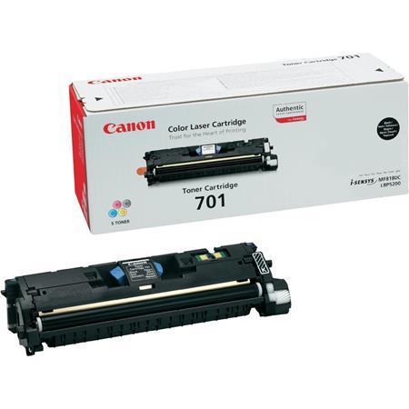 Canon 701 Black Original Laser Toner Cartridge