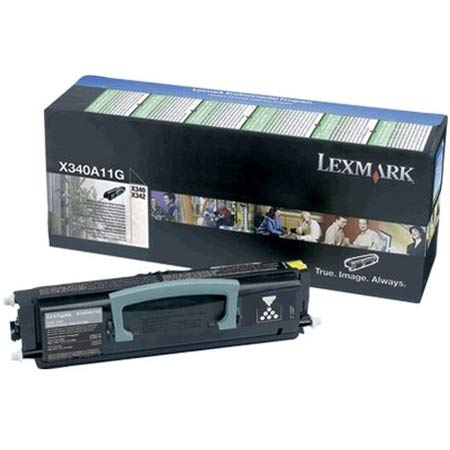 Lexmark X340A11G Original Return Program Toner Cartridge