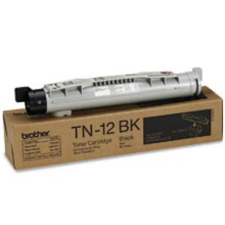 Brother TN12BK Black Original Toner Cartridge