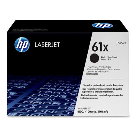 HP LaserJet C8061X Black Original High Capacity Print Cartridge with Smart Printing Technology