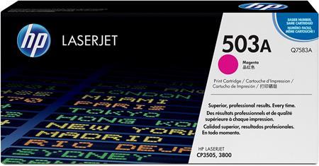 HP Colour LaserJet 503A Magenta Original Toner Cartridge with HP ColourSphere Toner (Q7583A)