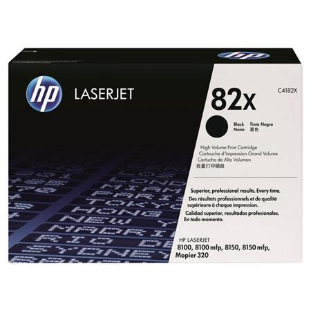 HP LaserJet C4182X Black Original High Capacity Toner Cartridge with Ultraprecise Technology