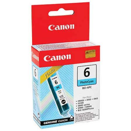 Canon BCI-6PC Photo Cyan Original Cartridge