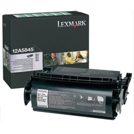 Lexmark 12A5845 Original Black Prebate High Capacity Toner Cartridge