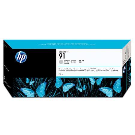 HP 91 Pigmented Light Grey Original Ink Cartridge with Vivera Ink