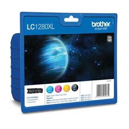 Brother LC1280XL BK/C/M/Y Original Multipack Ink Cartridges