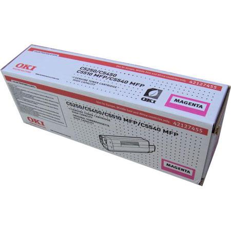OKI 42127455 Original Magenta High Capacity Toner Cartridge