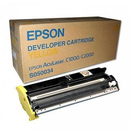 Epson S050034 Yellow Original Laser Toner Cartridge