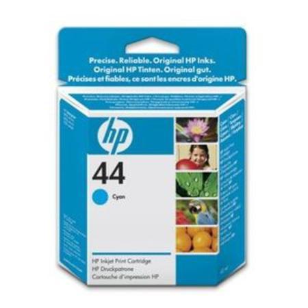 HP 44 Cyan Original Inkjet Print Cartridge