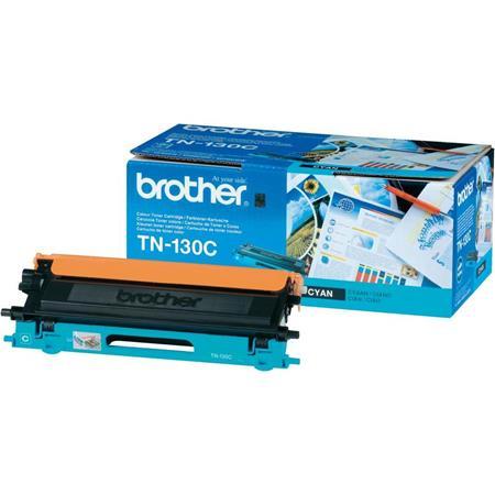 Brother TN130C Cyan Original Standard Capacity Toner Cartridge