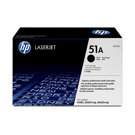 HP Laserjet 51A Black Original Toner Cartridge with Smart Printing Technology (Q7551A)