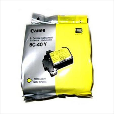 Canon BC-40Y Yellow Original Cartridge