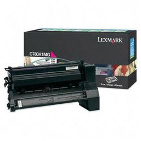 Lexmark C780A1MG Original Magenta Return Program Toner Cartridge