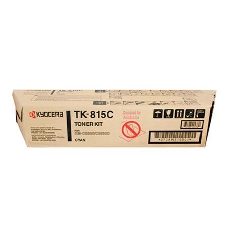 Kyocera TK-815C Original Cyan Toner Kit