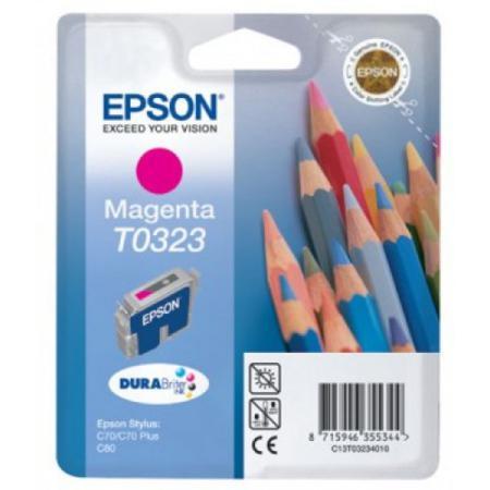 Epson T0323 (T032340) Magenta Original Ink Cartridge (Pencil)