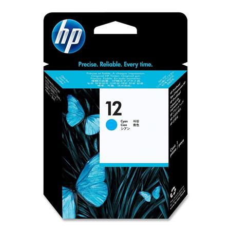 HP 12 Cyan Original Inkjet Cartridge