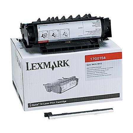 Lexmark 17G0154 Original Black High Capacity Toner Cartridge