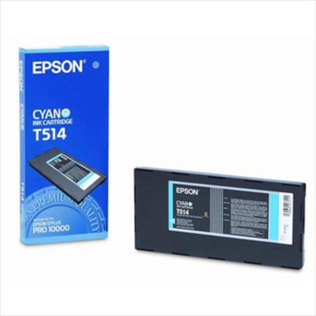 Epson T514 (T514011) Colorfast Cyan Original Ink Cartridge