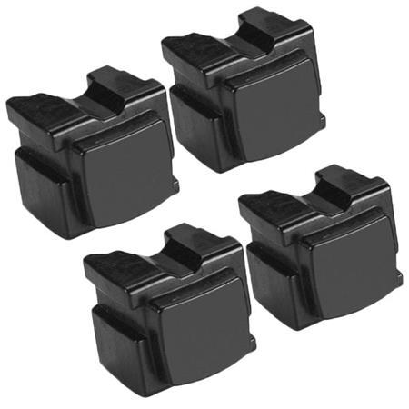 Compatible 4 x Black Xerox 108R00935 Solid Wax Ink