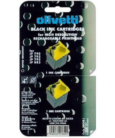 Olivetti B0048 Black Original High Resolution Ink Cartridge
