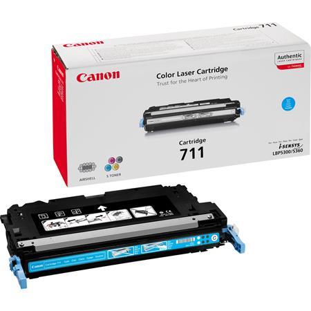 Canon 711C Cyan Original Laser Toner Cartridge