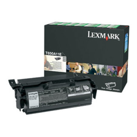 Lexmark 0T650A11E Black Original Toner cartridge