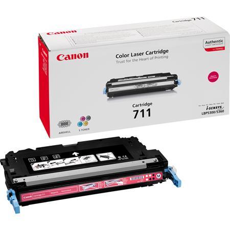 Canon 711M Magenta Original Laser Toner Cartridge