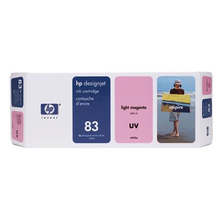 HP 83 Light Magenta Pigment-Based UV-Resistant Ink Cartridge