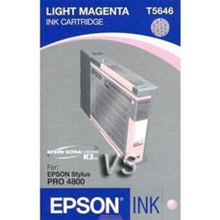 Epson T5646 (T564600) Light Magenta Standard Capacity Original Ink Cartridge